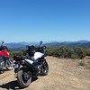 Hosted Eddie from Wisconsin, who just graduated college and is bumming around the US for 3 months on a V-Strom 650.  We took a nice ride into the South Fork Mountains his second day here.