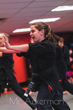 Black Belt Testing May 2019