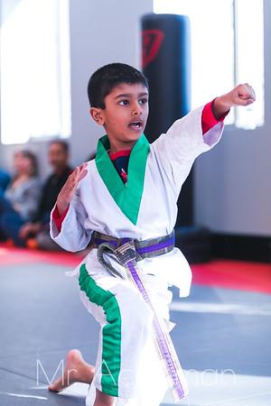 Callahans Karate Forms Tournament 2019 - Little Dragons