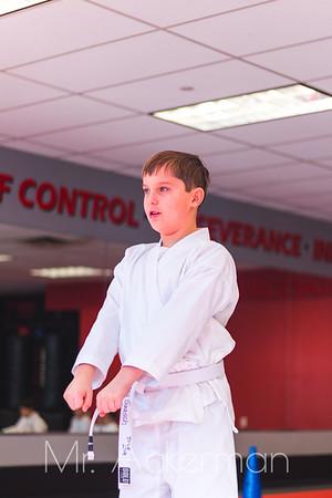 Callahans Karate Forms Tournament 2019 - White Belts