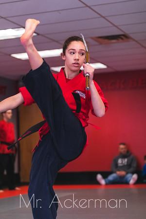 Callahans Karate Graduation March 2019