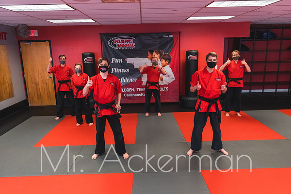 Congratulations to everyone that earned their next rank!!!!!!! You are AWESOME!!! We truly appreciate everyone's support throughout the last year and beyond. Belt Promotions are such a special day for everyone and we hope that you enjoyed our new way of conducting them. Shoutout to the demo team for putting on some incredible performances! We look forward to seeing everyone in class next week with their new shiny belts!!   If you would like a free full sized digital download or print, click here: https://www.reackerman.com/Callahans-Karate-Studio/2021/Graduation-March-2021/   #callahanskarate #beltpromotion #blackbeltschool #graduation