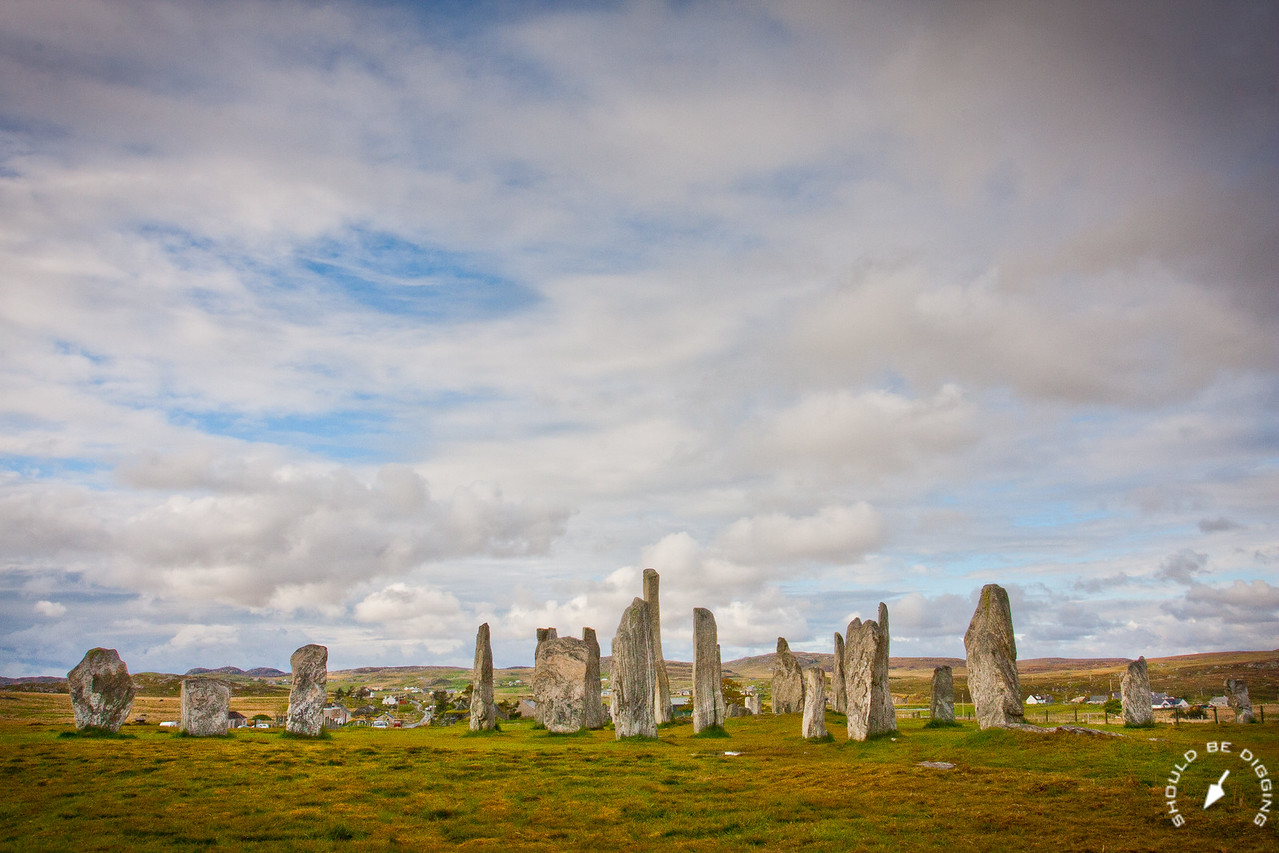 Wide View of the Callenish Stones