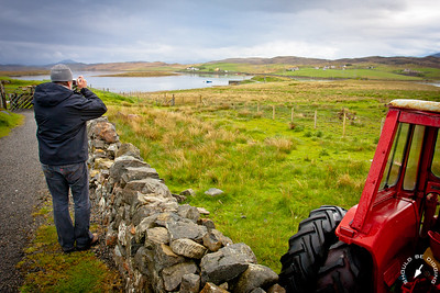 Dad near Callanish