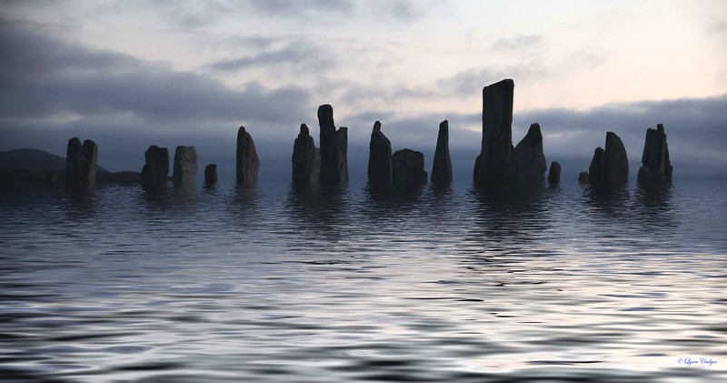 Callanish in flood