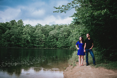 Calley and Brad Engagement Photos