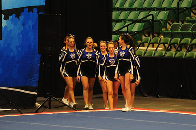 Cheer America competition Fall 2012