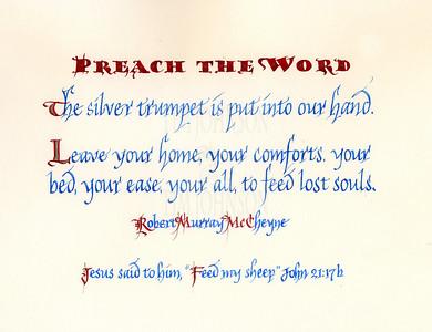 Preach The Word ...