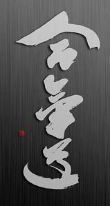 aikido calligraphy logo