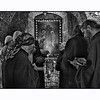 Christian Pilgrim in the Latin convent in Nazareth