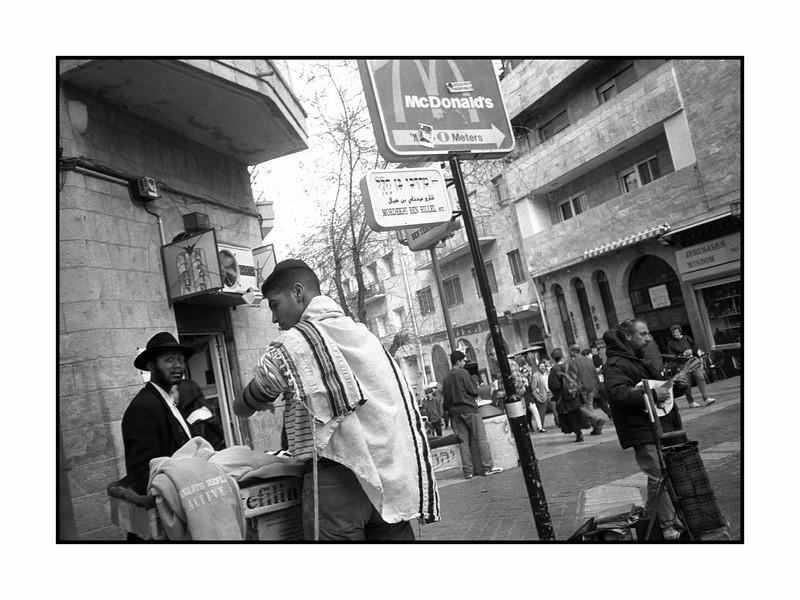 Tefillin Ceremony, Midrahov, Jerusalem.