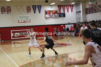 January 4 2019 Turkey Valley Men Host Clayton Ridge Basketball