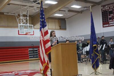South Winneshiek High School Veterans Day