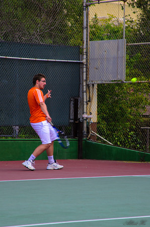 Caltech Men's Tennis vs. Occidental