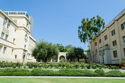 Caltech: Grounds near California Street
