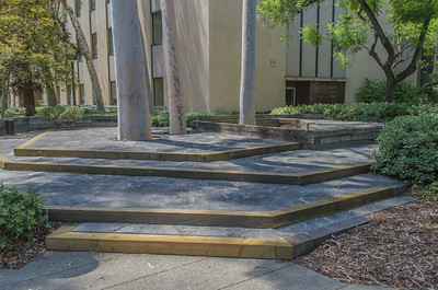 Caltech: Steps outside of Kreck Laboratories
