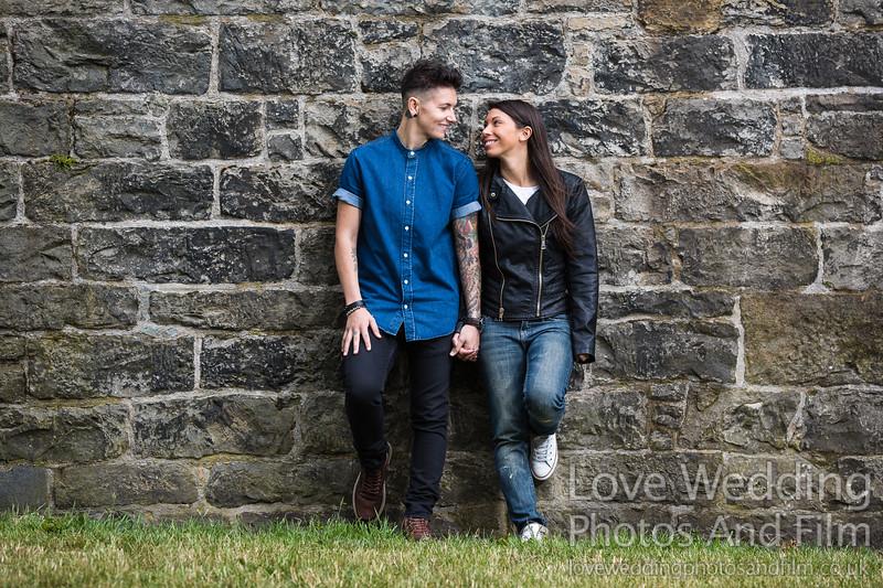 Calton Hill Pre-Wedding Photo Shoot - Donna and Leanne-1036