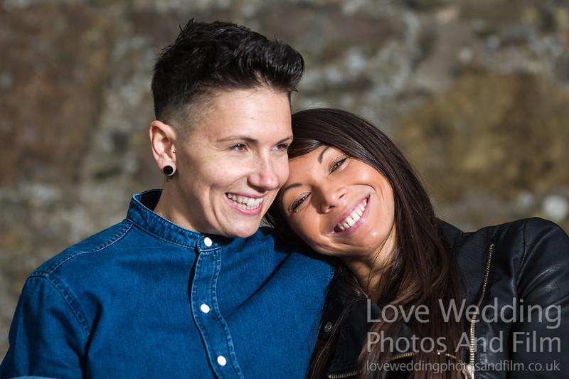 Calton Hill Pre-Wedding Photo Shoot - Donna and Leanne-1016
