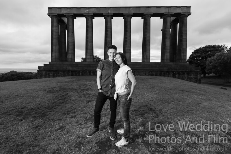 Calton Hill Pre-Wedding Photo Shoot - Donna and Leanne-1056