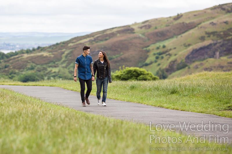 Calton Hill Pre-Wedding Photo Shoot - Donna and Leanne-1032