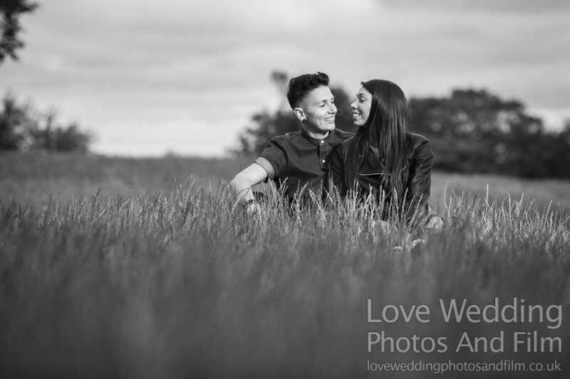 Calton Hill Pre-Wedding Photo Shoot - Donna and Leanne-1100