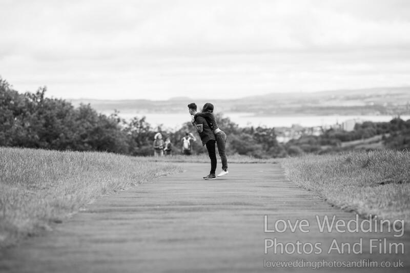 Calton Hill Pre-Wedding Photo Shoot - Donna and Leanne-1084