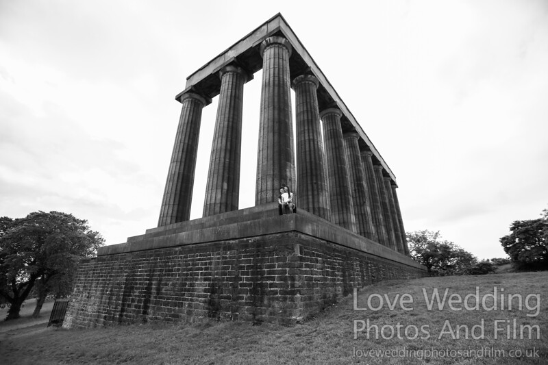 Calton Hill Pre-Wedding Photo Shoot - Donna and Leanne-1061