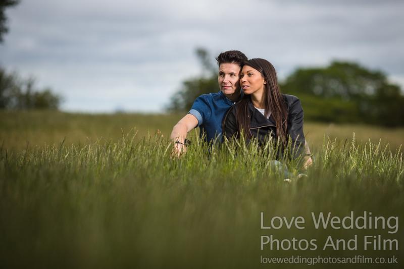 Calton Hill Pre-Wedding Photo Shoot - Donna and Leanne-1047