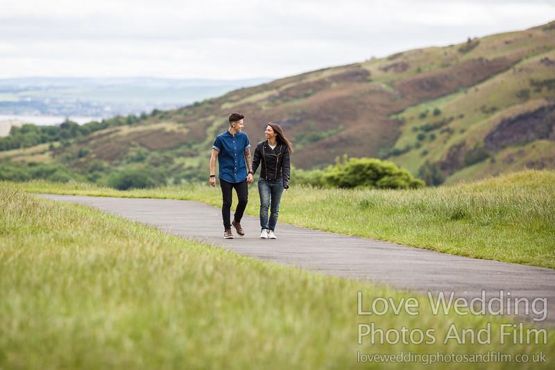 Calton Hill Pre-Wedding Photo Shoot - Donna and Leanne-1031