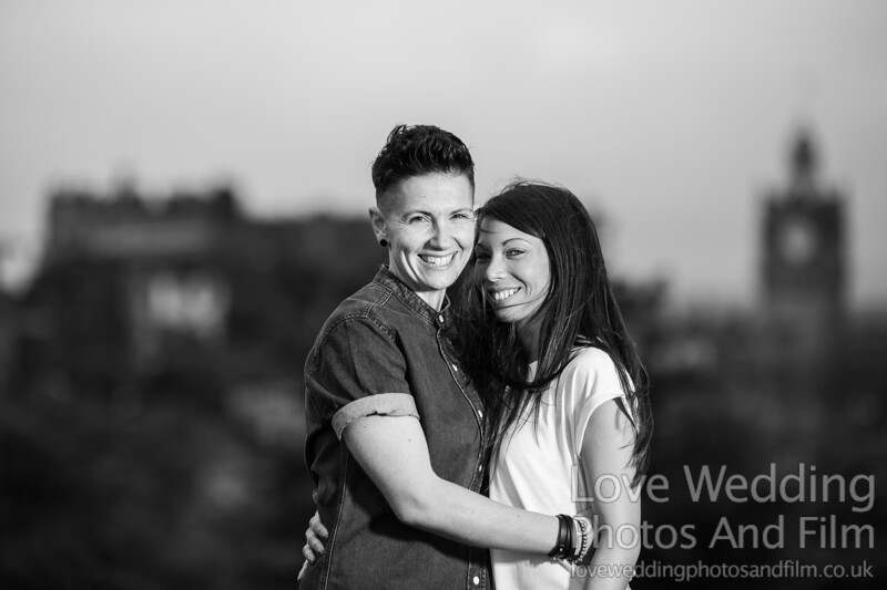 Calton Hill Pre-Wedding Photo Shoot - Donna and Leanne-1064
