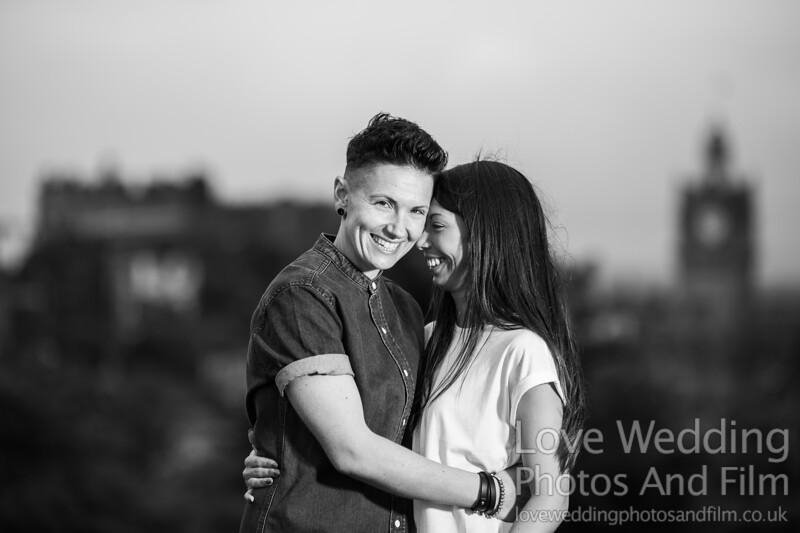 Calton Hill Pre-Wedding Photo Shoot - Donna and Leanne-1063