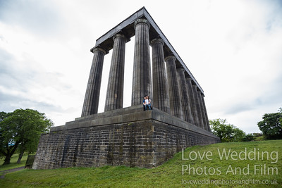 Calton Hill Pre-Wedding Photo Shoot - Donna and Leanne-1007