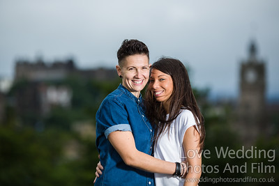 Calton Hill Pre-Wedding Photo Shoot - Donna and Leanne-1010