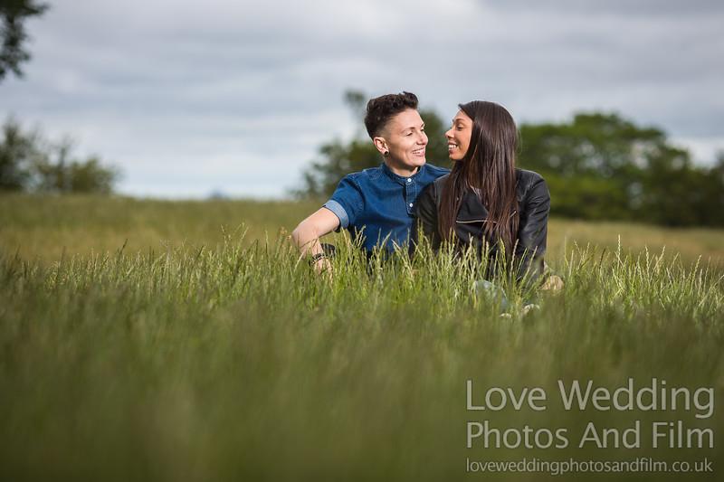 Calton Hill Pre-Wedding Photo Shoot - Donna and Leanne-1046