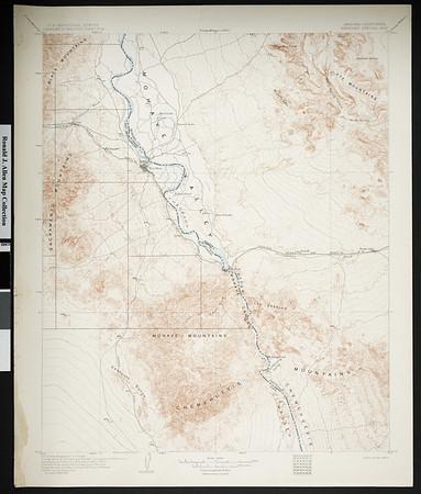 California. Needles quadrangle (30'), 1904