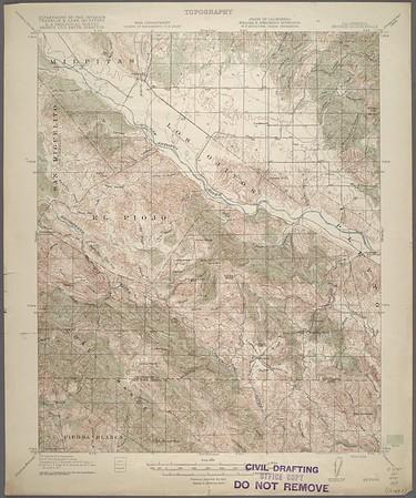 California. Bryson quadrangle (15'), 1919