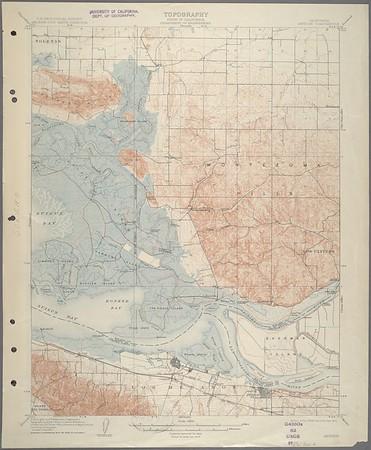 California. Antioch quadrangle (15'), 1908 (1914)