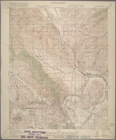 California. Bradley quadrangle (15'), 1919