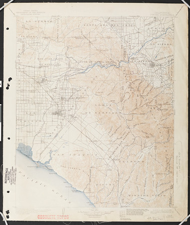 California. Corona quadrangle (30'), 1902 (1939)