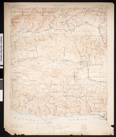 California. Camulos quadrangle (30'), 1903