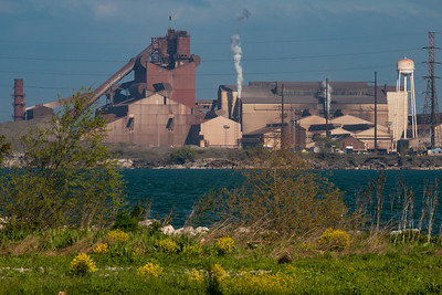 IMG_4242.jpg  ArcelorMittal steel mill  on Lake Michigan in East Chicago, Indiana. 5/22/20