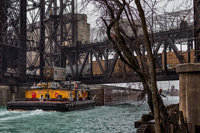 IMG_0663.jpg  Tow boat pushing barges under the Norfolk Southern railroad bridge over the Calumet River near 95th Street. 3/28/20