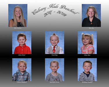 Calvary Kids Preschool 3yr 2017