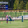 August 17, 2012 - The Calvary Christian Knights host Sherwood Christian (from Albany, GA) for a scrimmage game at Britt David Park, Columbus, GA.  Photo by John D. Helms.