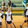 August 21, 2012 - Calvary Christian School hosts Trinity Christian in varsity volleyball.