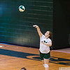 September 10, 2012 - Calvary Christian School hosts Heritage  in volleyball.
