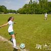 April 27, 2013 - Calvary Christian School girls high school soccer team plays Trinity Christian School at the Woodruff Soccer Complex in Columbus, GA.  Photo by John David Helms.