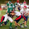 September 6, 2013 - The Calvary Christian School Knights host Young Americans Christian school for varsity football at Britt David Park, Columbus, GA. Photo by John David Helms.