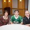 Oct 18, 2013 - Calvary Christian School senior football players present a donation check to Columbus Regional, Columbus, GA.  Photo by John David Helms.