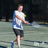 February 27, 2014 - Calvary Knights varsity tennis vs. Community, Cooper Creek Park, Columbus, GA.  Photo by John David Helms.